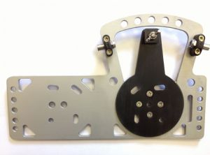 Bowden Cable Steering Plate for 2-